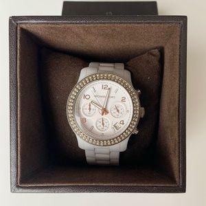 Authentic Michael Kors Women's MK5188 Runway Watch